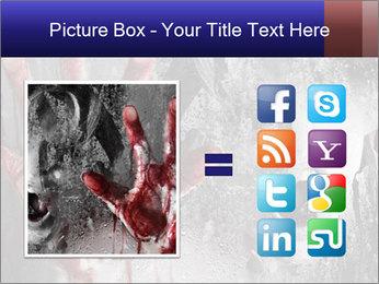 Crazy Death PowerPoint Template - Slide 21