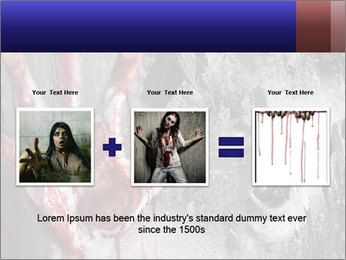 Crazy Death PowerPoint Template - Slide 22