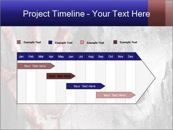 Crazy Death PowerPoint Template - Slide 25