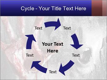 Crazy Death PowerPoint Template - Slide 62