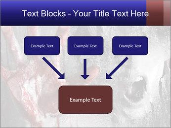 Crazy Death PowerPoint Template - Slide 70