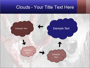 Crazy Death PowerPoint Template - Slide 72
