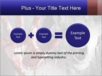 Crazy Death PowerPoint Template - Slide 75