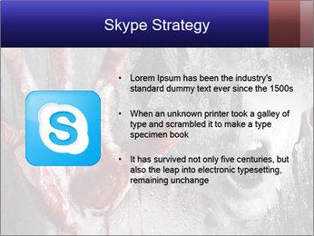 Crazy Death PowerPoint Template - Slide 8