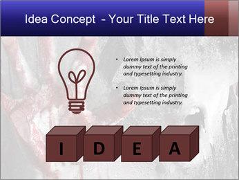 Crazy Death PowerPoint Template - Slide 80