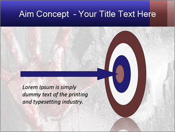 Crazy Death PowerPoint Template - Slide 83