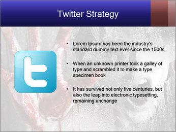 Crazy Death PowerPoint Template - Slide 9