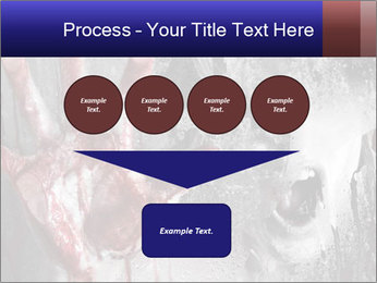 Crazy Death PowerPoint Template - Slide 93