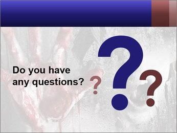 Crazy Death PowerPoint Template - Slide 96