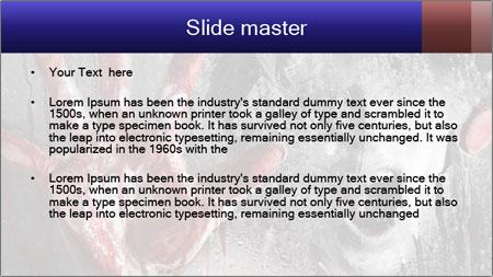 Crazy Death PowerPoint Template - Slide 2
