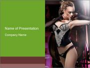 Sexy Corset PowerPoint Templates