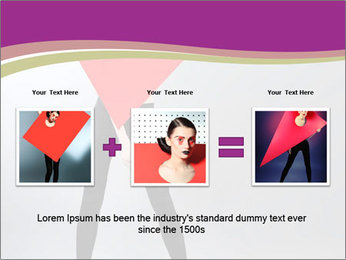 Fashion and Geometry PowerPoint Template - Slide 22