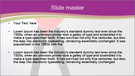 Fashion and Geometry PowerPoint Template - Slide 2
