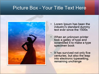 Shadow of Woman PowerPoint Template - Slide 13