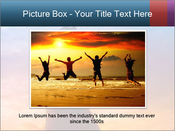 Shadow of Woman PowerPoint Template - Slide 16