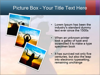 Shadow of Woman PowerPoint Template - Slide 17