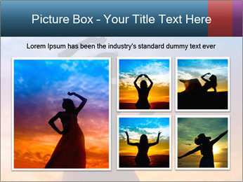 Shadow of Woman PowerPoint Template - Slide 19