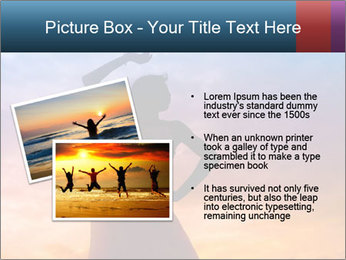 Shadow of Woman PowerPoint Template - Slide 20