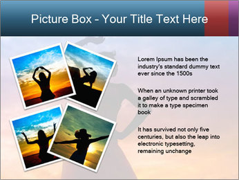 Shadow of Woman PowerPoint Template - Slide 23
