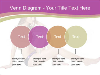 Model Sitting in Bikini PowerPoint Templates - Slide 32