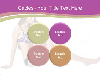 Model Sitting in Bikini PowerPoint Templates - Slide 38