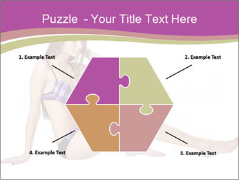 Model Sitting in Bikini PowerPoint Templates - Slide 40