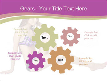 Model Sitting in Bikini PowerPoint Templates - Slide 47