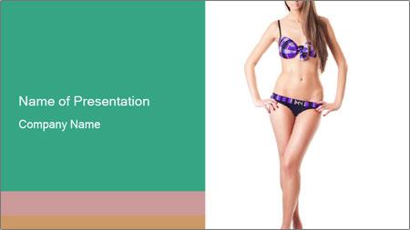 Bikini Fashion Collection PowerPoint Template