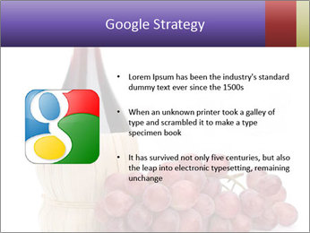 Red Wine and Fresh Grapes PowerPoint Template - Slide 10