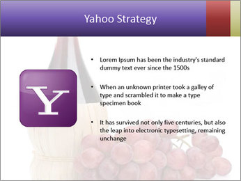 Red Wine and Fresh Grapes PowerPoint Template - Slide 11