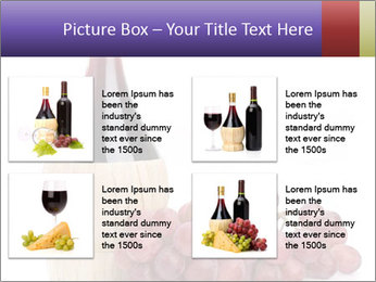 Red Wine and Fresh Grapes PowerPoint Template - Slide 14