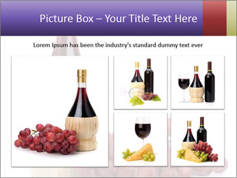 Red Wine and Fresh Grapes PowerPoint Template - Slide 19