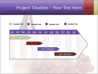Red Wine and Fresh Grapes PowerPoint Template - Slide 25