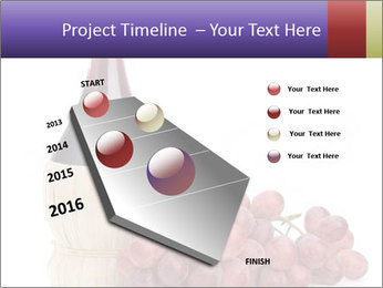 Red Wine and Fresh Grapes PowerPoint Template - Slide 26