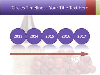 Red Wine and Fresh Grapes PowerPoint Template - Slide 29