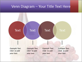 Red Wine and Fresh Grapes PowerPoint Template - Slide 32