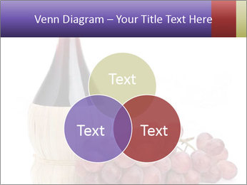 Red Wine and Fresh Grapes PowerPoint Template - Slide 33