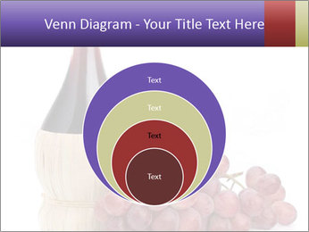 Red Wine and Fresh Grapes PowerPoint Template - Slide 34