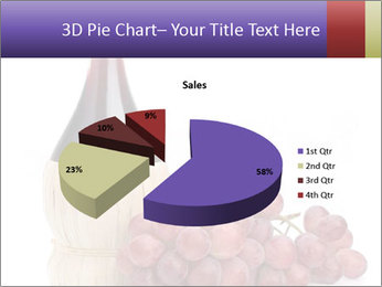 Red Wine and Fresh Grapes PowerPoint Template - Slide 35