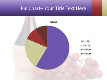 Red Wine and Fresh Grapes PowerPoint Template - Slide 36
