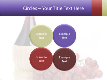 Red Wine and Fresh Grapes PowerPoint Template - Slide 38