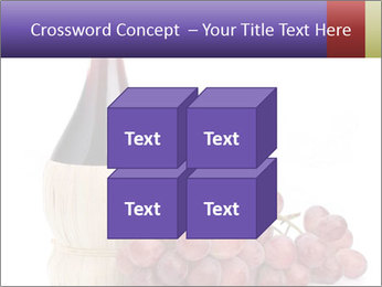 Red Wine and Fresh Grapes PowerPoint Template - Slide 39
