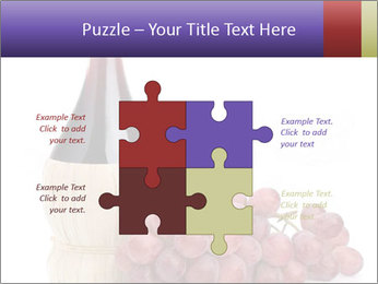 Red Wine and Fresh Grapes PowerPoint Template - Slide 43