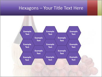 Red Wine and Fresh Grapes PowerPoint Template - Slide 44