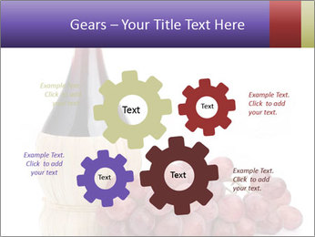 Red Wine and Fresh Grapes PowerPoint Template - Slide 47