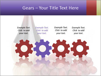 Red Wine and Fresh Grapes PowerPoint Template - Slide 48
