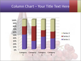 Red Wine and Fresh Grapes PowerPoint Template - Slide 50