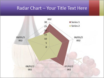 Red Wine and Fresh Grapes PowerPoint Template - Slide 51
