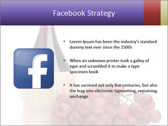 Red Wine and Fresh Grapes PowerPoint Template - Slide 6