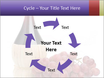 Red Wine and Fresh Grapes PowerPoint Template - Slide 62